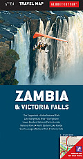 Zambia & Victoria Falls Travel Map, 5th (Globetrotter Travel Map)