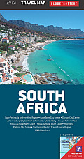 South Africa Travel Map, 12th (Globetrotter Travel Map)