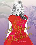 Sticker Fashionista: A Year of Fashion