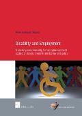 Disability and Employment - A Contemporary Disability Human Rights Approach Applied to Danish, Swedish and EU Law and Policy