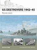 US Destroyers 1942-45: Wartime Classes Cover