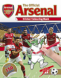 The Official Arsenal Sticker Colouring Book [With Sticker(s)]