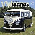 Cal16 VW Campers Wall Calendar 2016