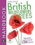 British Handbook - British Wildflowers & Trees: Identify and Record 100 Species