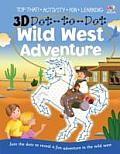 3d Dot-to-dot Wild West Adventure