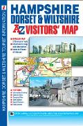 Hampshire, Dorset & Wiltshire Visitors Map