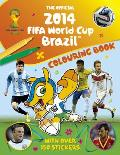 Official 2014 Fifa World Cup Brazil Colouring Book
