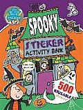 Wonderful World of Simon Abbott: Spooky Sticker Activity Book