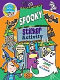 Spooky Sticker Activity Book