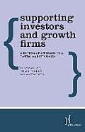 Supporting Investors and Growth Firms: A Bottom-Up Approach to a Capital Markets Union