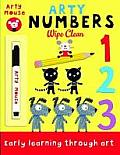 Arty Numbers Wipe Clean