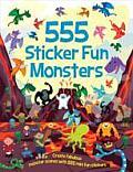 555 Sticker Fun Monsters