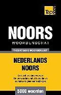 Thematische Woordenschat Nederlands-Noors - 5000 Woorden