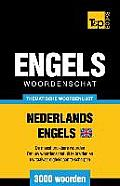 Thematische Woordenschat Nederlands-Brits-Engels - 3000 Woorden