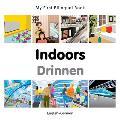 My First Bilingual Book-Indoors (English-German)