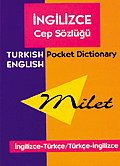 Milet English/Turkish-Turkish/English Pocket Dictionary Cover
