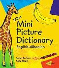 Milet Mini Picture Dictionary English Albanian