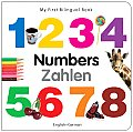 My First Bilingual Book - Numbers (English-German) (My First Bilingual Book) Cover