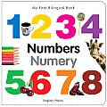 My First Bilingual Book - Numbers (English-Polish) (My First Bilingual Book) Cover