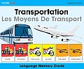 Wordplay Language Memory Cards - Transportation (English-French) (Wordplay)