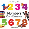 My First Bilingual Book - Numbers (English-Portuguese) (My First Bilingual Books) Cover