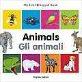 My First Bilingual Book-Animals (English-Italian)