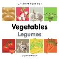 My First Bilingual Book-Vegetables (English-Portuguese)