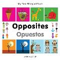 My First Bilingual Book-Opposites (English-Spanish) (My First Bilingual Book) Cover