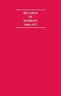 Records of Bahrain 1966 1971 6 Volume Hardback Set