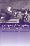 Lawyers and Vampires - Cultural Histories of Legal Professions