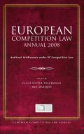 European Competition Law Annual 2008 - Antitrust Settlements under EC Competition Law