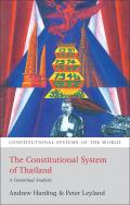 The Constitutional System of Thailand - A Contextual Analysis