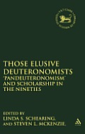 Those Elusive Deuteronomists: 'Pandeuteronomism' and Scholarship in the Nineties