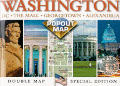 Washington Dc Double Popout Map