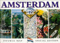Amsterdam Double Popout Map