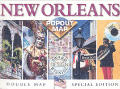 New Orleans Double Popout Map