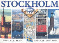 Stockholm Double Popout Map Special Edition