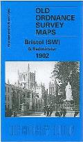 Bristol (SW) & Bedminster 1902: Gloucestershire Sheet 75.04
