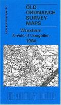 Wrexham and Vale of Llangollen 1904: One Inch Sheet 121