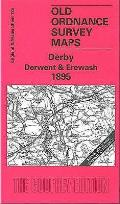 Derby Derwent and Erewash 1895: One Inch Sheet 125
