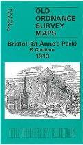 Bristol (ST. Anne's Park & Conham) 1913: Gloucestershire Sheet 76.02