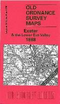 Exeter and the Lower Exe Valley 1888: One Inch Map 325