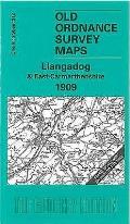 Llangadog 1909: One Inch Sheet 212