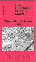 Plymouth To Polperro 1894: One Inch Sheet 348