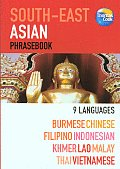 South East Asian Phrasebook 9 Languages Burmese Chinese Filipino Indonesian Khmer Lao Malay Thai Vietnamese