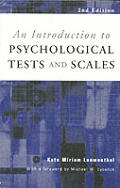 An Introduction to Psychological Tests and Scales