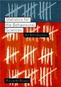 Statistics for the Behavioural Sciences: An Introduction