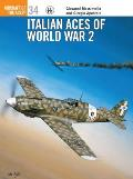 Aircraft Of The Aces #34: Italian Aces Of World War 2 by Giorgio Apostolo
