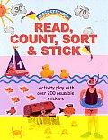 Read, Count, Sort & Stick (Superstickers)