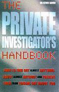 Private Investigators Handbook